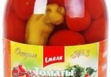 """Емеля Томаты ЧЕРИ """"Домашние"""" (1L) острые"""