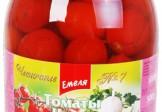 Емеля Томаты ЧЕРИ Домашние с чеснокoм (1L)